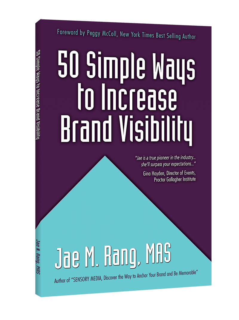 50 simple ways to increase brand visibility book cover