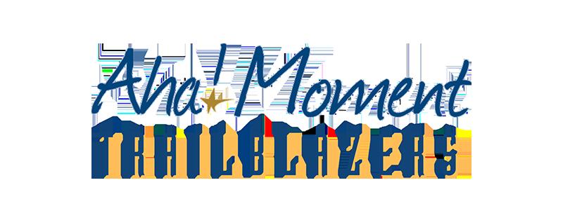 Aha! Moment Trailblazers Logo